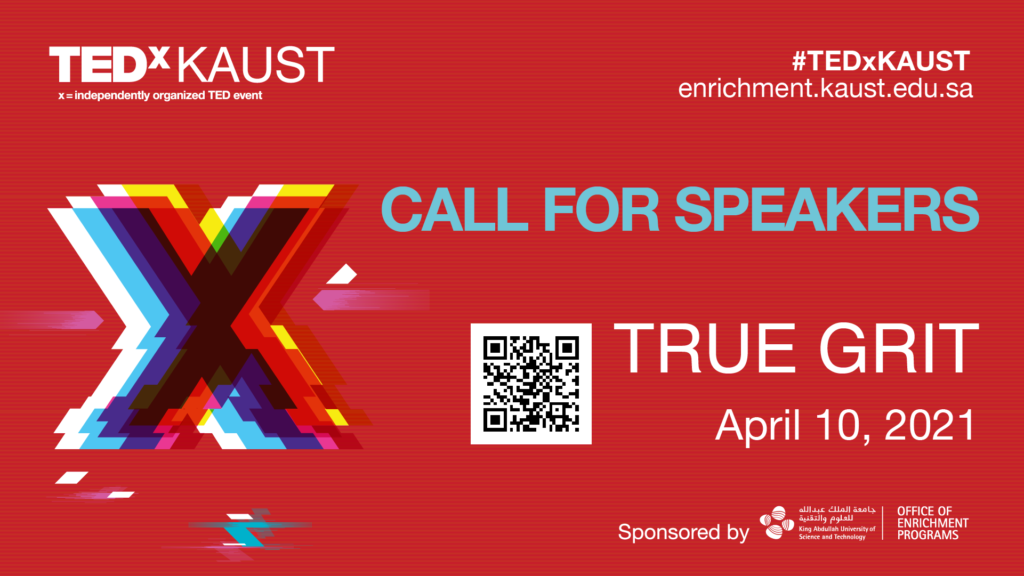 Call for TEDxKAUST speakers